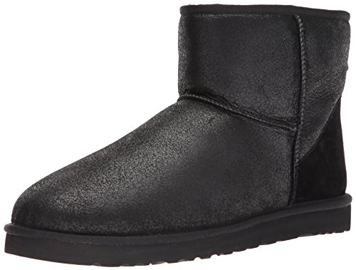 UGG Men's Classic Mini Winter Boot, Bomber Jacket Black,, used for sale  Delivered anywhere in USA