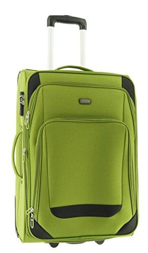Maletín de plástico Airport Color Verde Tamaño L Plástico Viaje Maleta Case FA. bowatex
