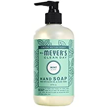 Mrs. Meyer's Clean Day Mint Hand Soap, 12.5 Fluid Ounce