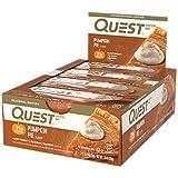 Quest Nutrition Protein Bar, Pumpkin Pie, 12 Count For Sale