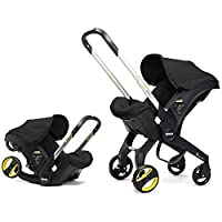 Doonas infant car seat and stroller combo was designed to provide parents a safe and practical solution for their baby, both in and outside of the car. It is the worlds first infant car seat and stroller in one, providing acomplete and fully integrat...