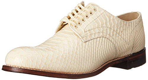 Stacy Adams Mens Madison Plain Oxford Ivory - 055 4GFtAl