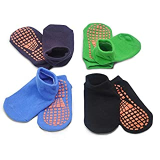 Kids Anti-Skid Socks Trampoline Children's Slide Gripper Socks For Teenagers