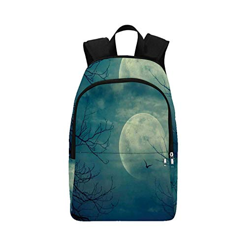 Halloween Horror Nights Lights On Tour - Horror House Decor Durable Backpack,Halloween with