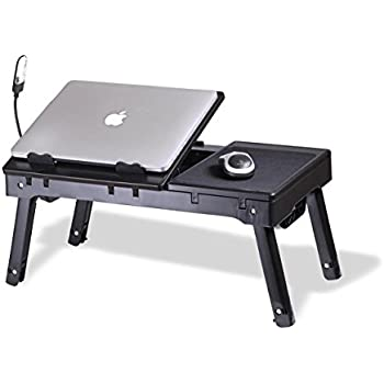 Amazon.com: Laptop Stand with Switchable Cooling Fan & LED Light ...