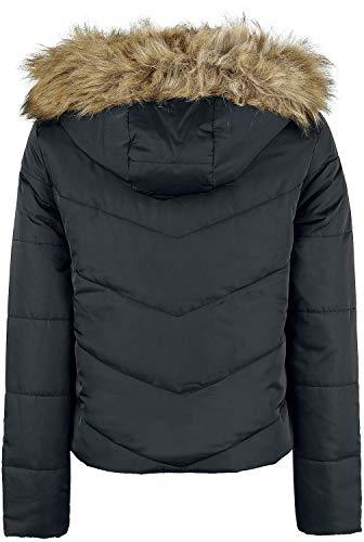 Invernale May Simona Donna s L Nero Giacca Short Noisy Jacket Z0TxapTw