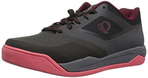 Pearl iZUMi Women's W X-ALP Launch SPD Cycling Shoe, Black/Smoked Pearl, 39.0 M EU (7.5 US)