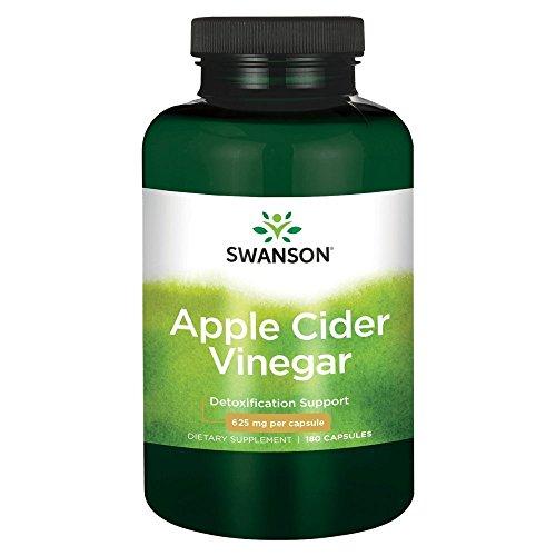 - High Potency Apple Cider Vinegar 625 mg 180 Caps by Swanson Ultra