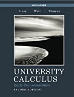 University Calculus, Early Transcendentals, Multivariable, 2nd Edition Front Cover