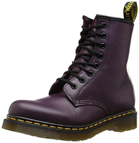 Dr Purple Boots Martens 1460 Unisex Original Adult Lace up fABfTnr