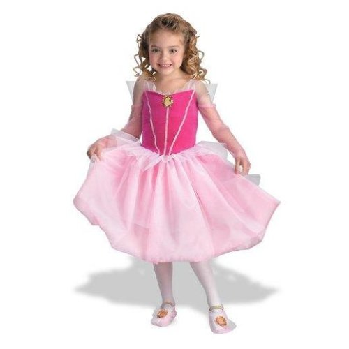 Disney Princess: Sleeping Beauty - Aurora Ballerina Dress Child Costume Size 3T-4T