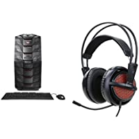 Acer Predator Desktop, Intel Core i7, GeForce GTX 1080, 16GB DDR4, 256GB SSD, 2TB HDD, Win 10, AG6-710-70016 + Acer Predator Gaming Headset