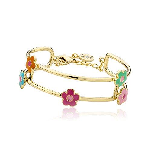 Flower Station Bracelet (Little Miss Twin Stars Girls'