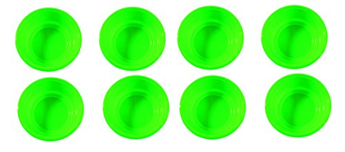 (Set of 8 Green Click Home Design Bright & Beautiful Collection Mini Lipped Bowls)