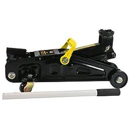 Black Bull FJ2 4000 lbs. Capacity 2 Ton Trolley Floor Jack