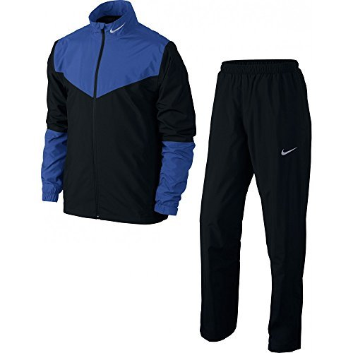 Nike Golf Storm-FIT Rainsuit (Black/Game Royal, Small)