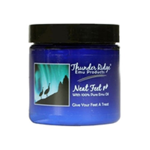 (Neat Feet Moisturizing Cream with Emu Oil - 4 Oz, 2)