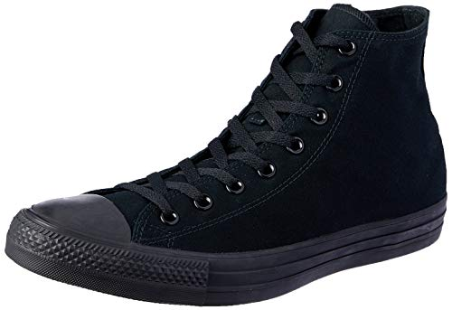 Womens High Top - Converse Mens Chuck Taylor All Star High Top, 3.5 Men/ 5.5 Women, Black Monochrome