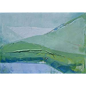 """Landscape 55"". Size 39,4/27,6 inches"
