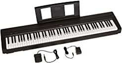 Yamaha P71 88-Key Weighted Action Digita...