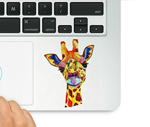 Giraffe Peel (Giraffe Colorful Decal Laptop Macbook Trackpad Keypad Sticker Decal & Sticker Pros Decal Laptop Macbook Trackpad Keypad Sticker)