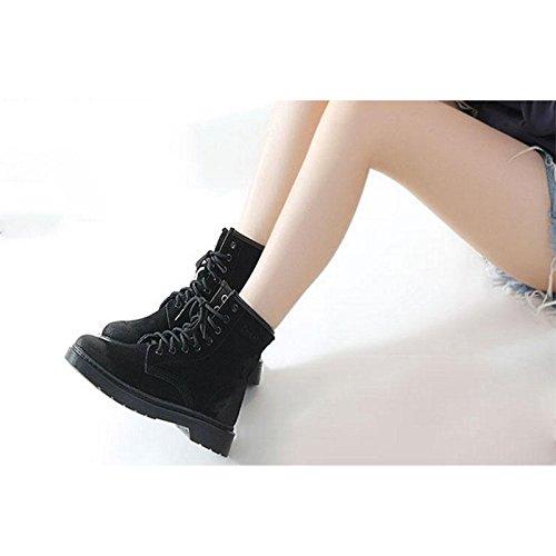 Stivali donna Caviglia Stivali piatti casual macchia 43 da fRqwEE1