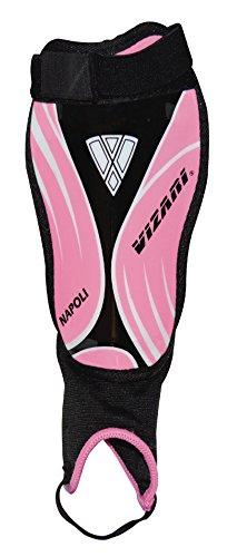 Vizari Napoli Shin Guard, Pink/Black, XX-Small