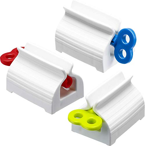 Rolling Tube Toothpaste Squeezer Toothpaste Seat Holder Rotate Dispenser