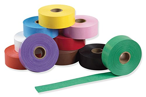 Wet N Stick - Pacon  Wet N' Stick Art Tape, Assorted 10 Colors,  1-1/2