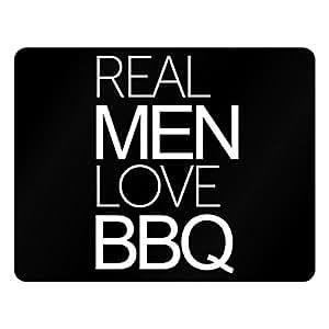 Idakoos Real men love BBQ - Food - Plastic Acrylic