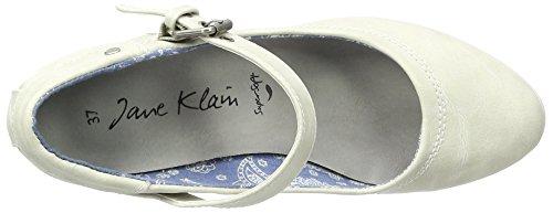993 WoMen Black Klain Heels 224 Grey Lt Closed Toe Jane Grey qgTp1n1