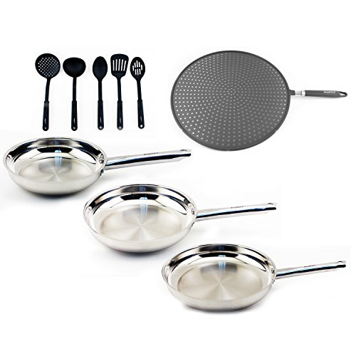 BergHOFF - Boreal 9pc Stainless Steel Cookware Set: 8