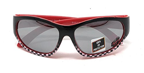 Price comparison product image Hot Wheels Kid's Sunglasses in Black and Red Checkered Design