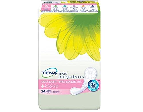 Tena/Serenity Liners, Very Light Absorbency, Pack/26 (Tena Pantiliners Serenity Regular)