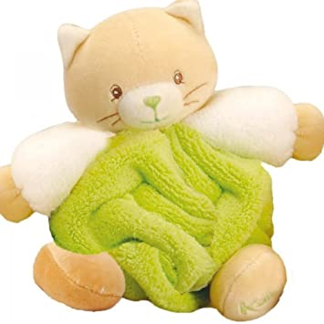 Kaloo Plush Cat, Green, Small