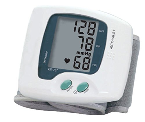 Andon High Blood Pressure Monitor Wrist Handy Portable