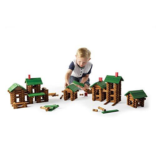 - Fat Brain Toys Timber Log Builders - 450 Piece Set