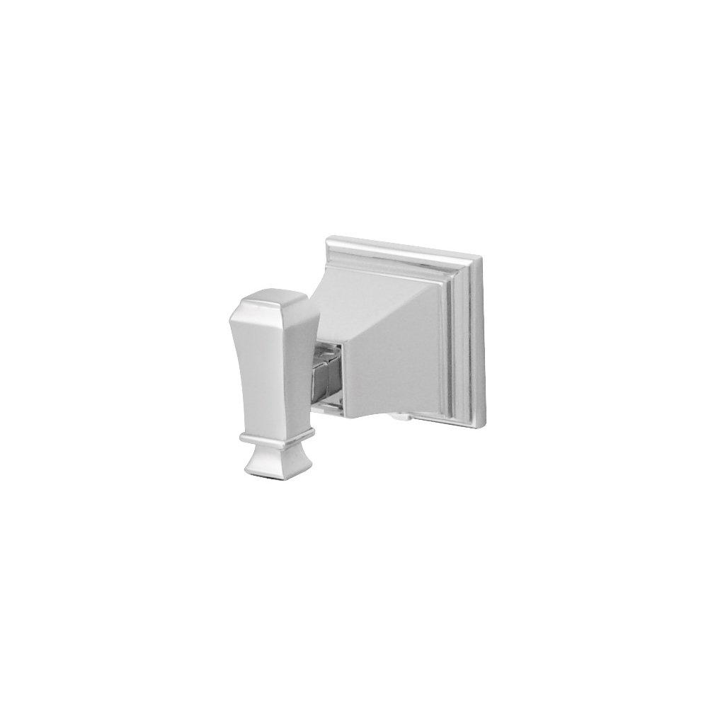 Speakman SA-1306 Rainier Bathroom Square Robe Hook, Polished Chrome