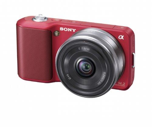 Sony Alpha NEX NEX3A/R Digital Camera with 16mm F2.8 Lens