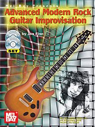 Advanced Modern Rock Guitar Improvisation Book/CD/DVD (Advanced Rock Guitar Dvd)