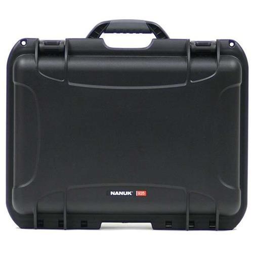 Nanuk 925 Waterproof Hard Case with Foam Insert - Black (Molded Foam Hard)