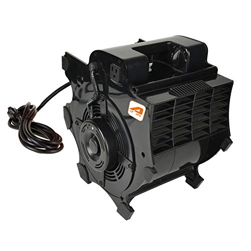 AAIN LT015 High Velocity Blower Fan Pro,Industrial Air Mover,Utility ElectrIc Carpet Dryer,Ideal for Wet Carpets, Floors,Walls & Ceilings 3-speed,1200 CFM,2/5 HP