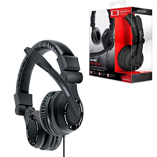 dreamGEAR GRX-350 Advanced Wired Stereo Gaming Headset - Xbox One, Playstation 4, Nintendo Wii U, Android & Windows