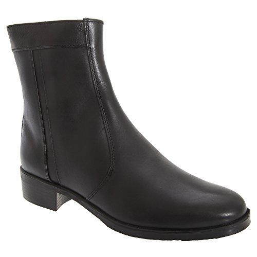 Inside Black Mens Sole Resin Zip Boots Lined Scimitar 1AHxwq566