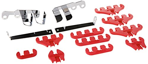 Moroso 72131 Ford Loom Kit Red 7-8 Mm