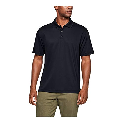 Under Armour Men's Tactical Performance Polo, Black/Black, X-Large ()