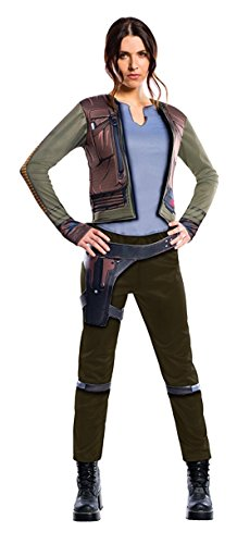 Star Wars Costumes - Rogue One: A Star Wars Story Women's Deluxe Jyn Erso Costume, Multi, Small