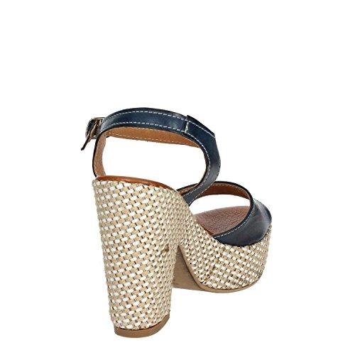 Bleu PZ6579 Femme Sandale F003 Pregunta waqH1In