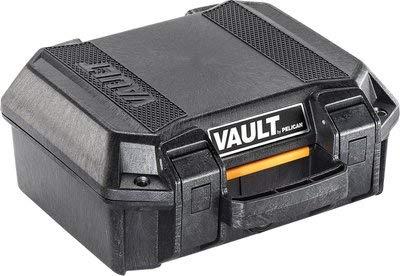 Pelican Vault V100 Pistol Case with Foam (Black) by Pelican