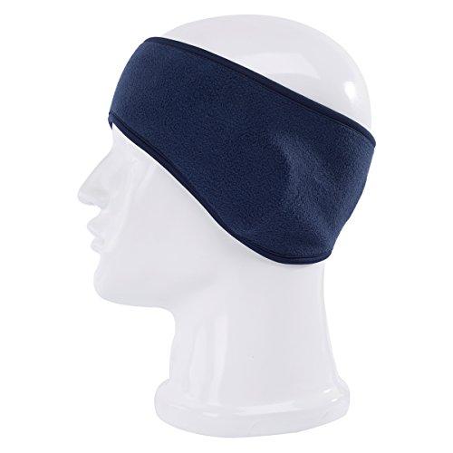 Maoko Winter Warmer HeadBand -Ear Muffs Polar Fleece Ski Headwear Royalblue